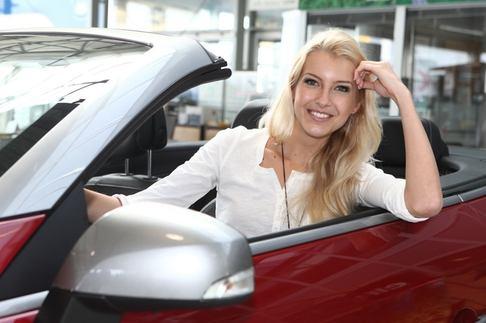Česká Miss Jitka Nováčková si převzala auto