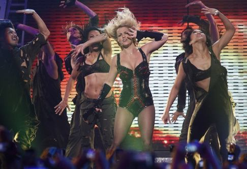 Britney Spears koncertovala v ranní show Good Morning America