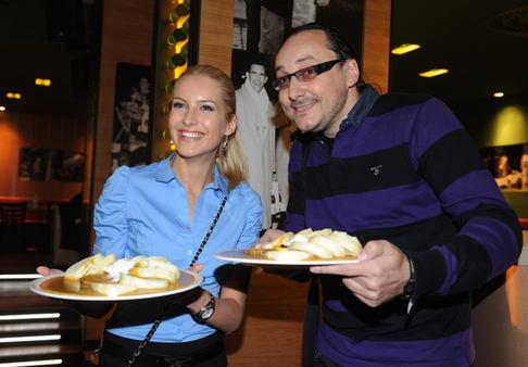 Svíčková party v restauraci Havelák - Jitka Nováčková a Marian Vojtko