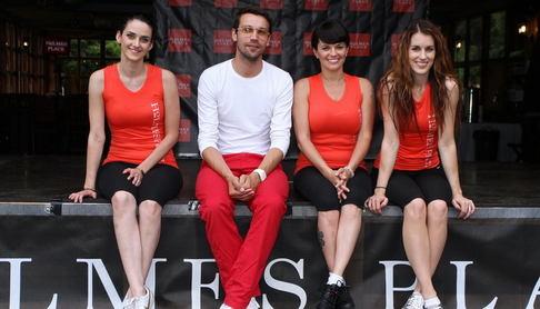Celebrity představily nový cvičební program - Libuška Vojtková, Lukáš Hejlík, Marta Jandová a Lucie Váchová Křížková