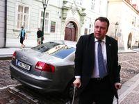 Stávka v Praze - sněmovna