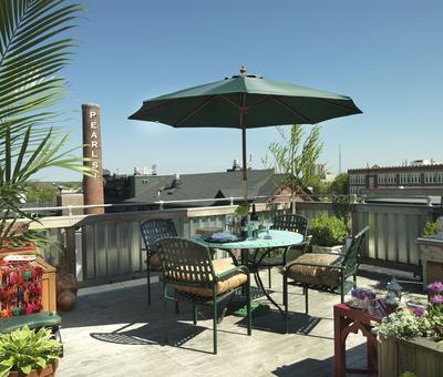 Inspirace: Jak bydlet komfortně na terase