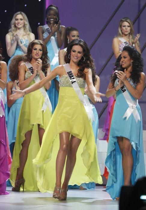 Miss Universe - druhá vicemiss Priscila Machado z Brazílie