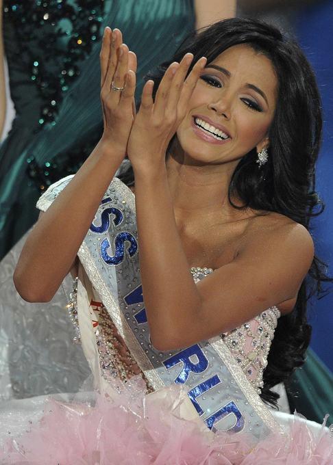 Miss World 2011 - Nová královna krásy Ivián Sarcos