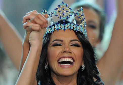 Miss World 2011 se dnes v Londýně stala Ivián Colmenaresová z Venezuely