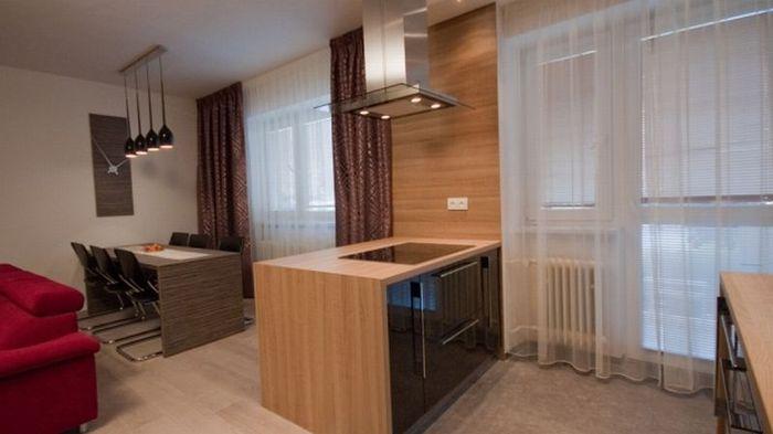 Povedená proměna: pro velkou kuchyň obětovali ložnici