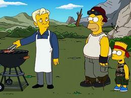 Simpsonovi - Julian Assange