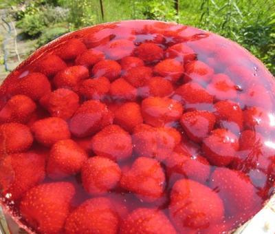 Jahodov� dort
