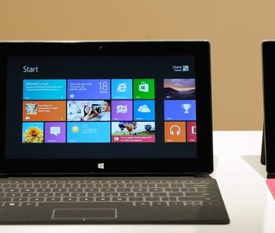 Surface. To je jm�no tabletu od Microsoftu