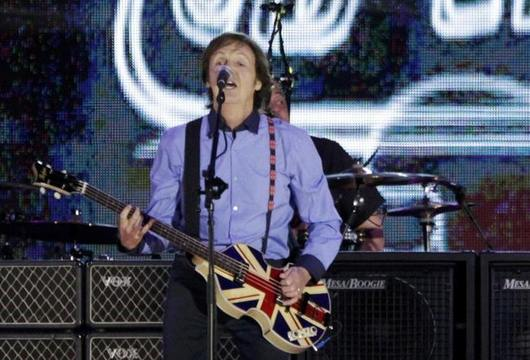 Vlasy u m zase hnd: Paul McCartney slav 70!