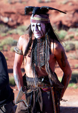 Lone Ranger - Johnny Depp