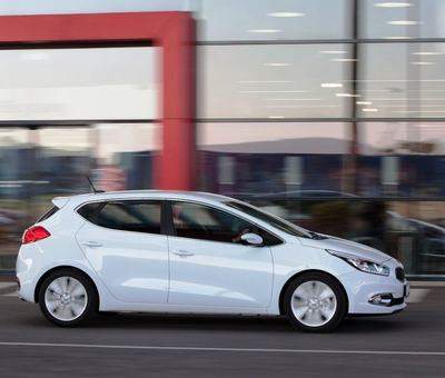 Test Kia Ceed 2012