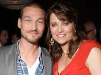 Andy Whitfield a Lucy Lawless