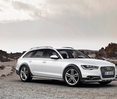 Audi A6 Allroad Quattro pijelo na filmov festival