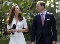 Kate a William na v�let� v Singapuru