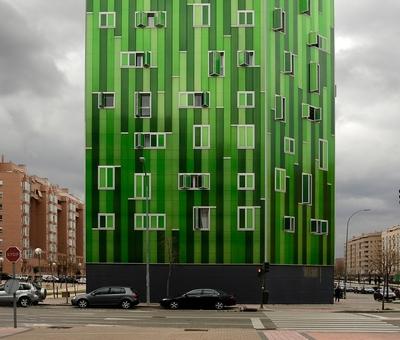 Zelen� bydlen� v Madridu