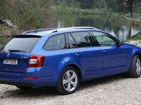 Test koda Octavia Combi III