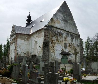 Kostel sv. Ma�� Magdaleny u Velhartic
