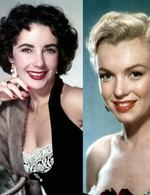 Marylin Monroe, Elizabeth Taylor, Ingrid Bergman