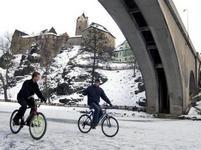 Zima v Čechách zdaleka není u konce, k radosti bruslařů.