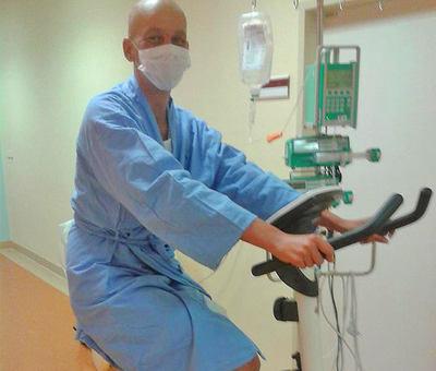 Pacientka Jitka Ko��nov� v nemocnici