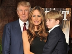 Donald Trump s�Melani� a Barronem