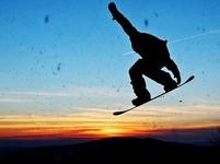 Freestyle snowboarding - tak trochu lítat
