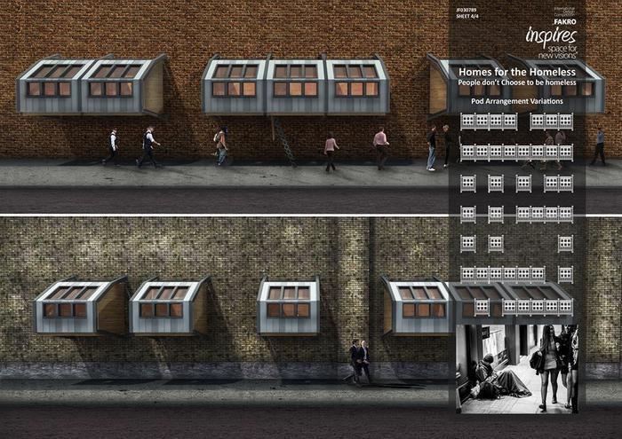 mlad architekt navrhl zaj mav bydlen pro bezdomovce fotogalerie. Black Bedroom Furniture Sets. Home Design Ideas