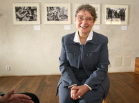 Světlana Gannuškinová, laureátka ceny Homo homini