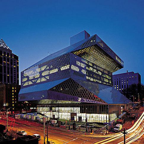 Knihovna Seattle 01