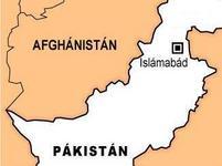 mapa Pákistán