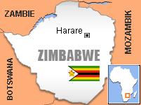 Mapa - Zimbabwe