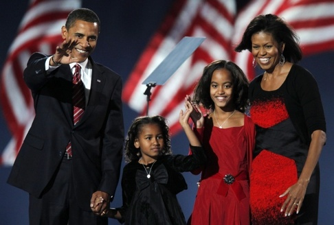 Barack Obama, rodina