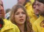 Greenpeace blokují rypadlo