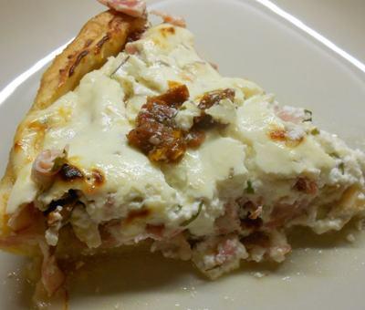 Recept - sýrový koláč
